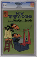 Silver Age (1956-1969):Cartoon Character, New Terrytoons #8 File Copy (Dell, 1962) CGC NM 9.4 Off-white pages. Overstreet 2006 NM- 9.2 value = $35. CGC census 5/06: 5...