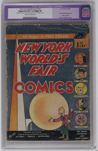 New York World's Fair Comics #1939 (DC, 1939) CGC Apparent GD/VG 3.0 Slight (P) Cream to off-white pages. This issue is...