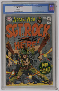 Our Army at War #201 (DC, 1969) CGC FN- 5.5 Off-white pages. Joe Kubert cover and art. Krigstein reprint. Overstreet 200...