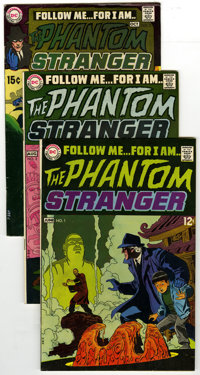 The Phantom Stranger #1 - 40 Group Plus (DC, 1969-76) Condition: Average VF. Complete run of The Phantom Stranger, inclu...