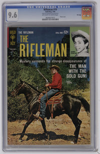 The Rifleman #19 File Copy (Gold Key, 1964) CGC NM+ 9.6 Off-white to white pages. Photo cover of Chuck Connors. This is...