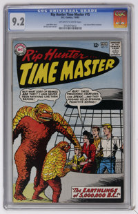 Rip Hunter Time Master #15 (DC, 1963) CGC NM- 9.2 Off-white to white pages. Last issue before the characters adopted sup...