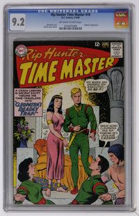 Rip Hunter Time Master #19 (DC, 1964) CGC NM- 9.2 Off-white to white pages. Rip meets Cleopatra. Bill Ely cover and art...
