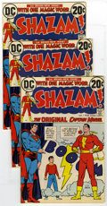 Bronze Age (1970-1979):Superhero, Shazam! Group (DC, 1973) Condition: Average FN. This magical collection features the World's Mightiest Mortal, Captain Marve... (Total: 10)