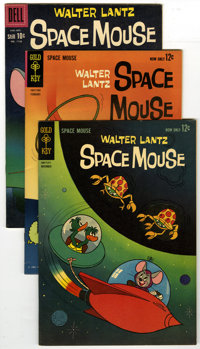 Space Mouse Group (Dell/Gold Key, 1960-63) Condition: Average VF/NM. This lot of sixteen Space Mouse comics from Walter...