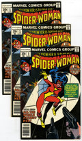 Bronze Age (1970-1979):Superhero, The Spider-Woman Group (Marvel, 1978) Condition: Average VF. To know her is to fear her! Spectacular selection of ten issues... (Total: 10)