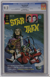 Star Trek #20 File Copy (Gold Key, 1973) CGC NM- 9.2 Off-white to white pages. George Wilson painted cover. Alberto Giol...