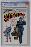 Bronze Age (1970-1979):Superhero, Superman #296 (DC) CGC NM/MT 9.8 White pages. Curt Swan and Bob Oksner art. This issue has the highest CGC grade to date. Ov...