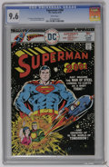 Bronze Age (1970-1979):Superhero, Superman #300 (DC) CGC NM+ 9.6 White pages. Superman in the year 2001 story. Curt Swan and Bob Oksner art. Overstreet 2006 N...