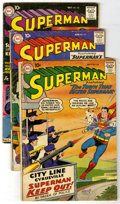 Silver Age (1956-1969):Superhero, Superman #130-139 Group (DC, 1959-60) Condition: Average GD. Group of ten Superman books contains #130 (second appearanc... (Total: 10)