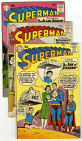Silver Age (1956-1969):Superhero, Superman #140-149 Group (DC, 1960-61) Condition: Average VG. This group of ten Superman books is comprised of #140 (firs... (Total: 10)
