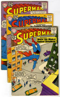 Silver Age (1956-1969):Superhero, Superman #150-159 Group (DC, 1962-63) Condition: Average VG. Group contains ten Superman books including #150, 151, 152 ... (Total: 10)