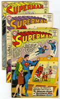 Silver Age (1956-1969):Superhero, Superman #160-169 Group (DC, 1963-64) Condition: Average GD/VG. Lot of ten Superman comics contains #160, 161 (first tol... (Total: 10)
