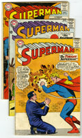 """Silver Age (1956-1969):Superhero, Superman #170-180 Group (DC, 1964-65) Condition: Average VG-. Lot of ten """"Man of Steel"""" books includes Superman #170 (pr... (Total: 11 )"""