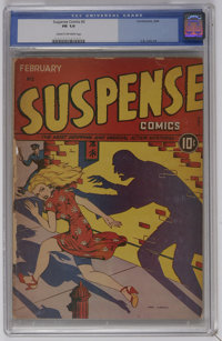 Suspense Comics #2 (Continental Magazines, 1944) CGC FR 1.0 Cream to off-white pages. Introduction of the Mask. Nina Alb...