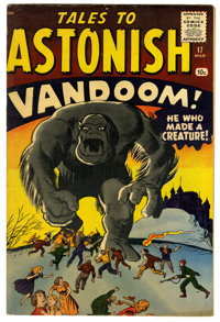 Tales to Astonish #17 (Marvel, 1961) Condition: FN-. Art by Jack Kirby, Dick Ayers, and Steve Ditko. Overstreet 2006 VG...