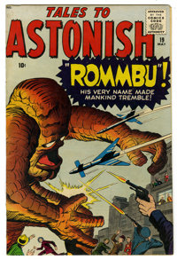 """Tales to Astonish #19 (Marvel, 1961) Condition: FN. Cover features """"Rommbu!"""" Jack Kirby and Dick Ayers cover..."""