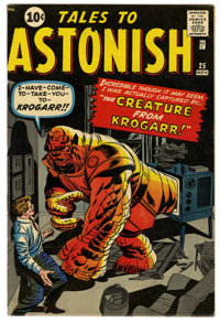 Tales to Astonish #25 (Marvel, 1961) Condition: Apparent VF. Art by Jack Kirby and Steve Ditko. Color touch. Overstreet...