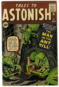 Silver Age (1956-1969):Superhero, Tales to Astonish #27 (Marvel, 1962) Condition: Apparent FN. First appearance of Henry Pym (Ant-Man). Last 10¢ issue. Jack K...