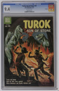 Silver Age (1956-1969):Adventure, Turok #20 File Copy (Dell, 1960) CGC NM 9.4 Off-white pages. Highest CGC grade for this issue. Overstreet 2006 NM- 9.2 value...