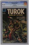 Silver Age (1956-1969):Adventure, Turok #22 File Copy (Dell, 1961) CGC VF+ 8.5 Off-white pages. Overstreet 2006 VF 8.0 value = $60; VF/NM 9.0 value = $90. CGC...