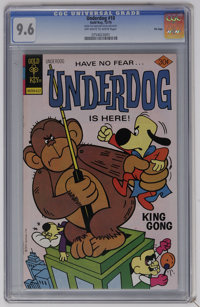 Underdog #10 File Copy (Gold Key, 1976) CGC NM+ 9.6 Off-white to white pages. Highest CGC grade for this issue. Overstre...