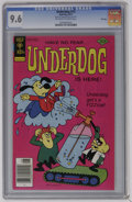 Underdog #13 File Copy (Gold Key, 1977) CGC NM+ 9.6 Off-white to white pages. Overstreet 2006 NM- 9.2 value = $35. CGC c...