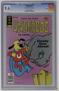 Underdog #15 File Copy (Gold Key, 1977) CGC NM+ 9.6 Off-white to white pages. Overstreet 2006 NM- 9.2 value = $35. CGC c...