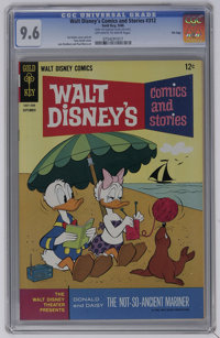 Walt Disney's Comics and Stories #312 File Copy (Gold Key, 1966) CGC NM+ 9.6 Off-white to white pages. Carl Barks and To...