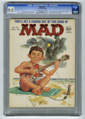 Magazines:Mad, Mad #97 (EC, 1965) CGC NM- 9.2 Off-white to white pages. NormanMingo cover. Walter Cronkite musical parody. Mort Drucker, A...