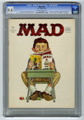 """Magazines:Mad, Mad #101 (EC, 1966) CGC NM 9.4 Off-white to white pages. Infinitycover by Norman Mingo. """"Voyage to the Bottom of the Sea"""" T..."""