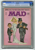 """Magazines:Mad, Mad #104 (EC, 1966) CGC NM 9.4 Off-white to white pages. """"Lost inSpace"""" TV satire. """"Fourth of July"""" fold-in. Norman Mingo c..."""
