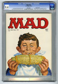 Magazines:Mad, Mad #154 Gaines File pedigree (EC, 1972) CGC NM 9.4 White pages. Presidential candidate fold-in. Norman Mingo cover. Mort Dr...