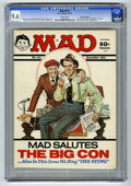"""Magazines:Mad, Mad #171 Gaines File pedigree (EC, 1974) CGC NM+ 9.6 White pages. Norman Mingo """"Sting"""" parody cover with Richard Nixon and S..."""