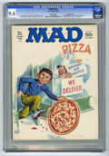 "Magazines:Mad, Mad #183 Gaines File pedigree (EC, 1976) CGC NM 9.4 White pages. ""Dog Day Afternoon"" and ""Baretta"" parodies. Norman Mingo co..."