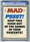 """Magazines:Mad, Mad #195 Gaines File pedigree (EC, 1977) CGC NM- 9.2 Off-white towhite pages. """"Airport 1977,"""" """"Black Sunday,"""" and """"Barney M..."""
