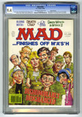 "Magazines:Mad, Mad #234 Gaines File pedigree (EC, 1982) CGC NM 9.4 Off-white to white pages. M*A*S*H cover and parody. ""Death Wish"" and ""On..."