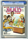 Magazines:Mad, Mad #266 Gaines File pedigree (EC, 1986) CGC NM 9.4 White pages.Mort Drucker wraparound cover featuring Johnny Carson, Joan...