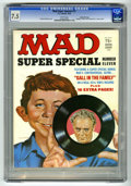 """Magazines:Mad, Mad Special #11 Gaines File pedigree (EC, 1973) CGC VF- 7.5 Whitepages. Includes """"Gall In the Family"""" vinyl record. Norman ..."""