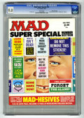 "Magazines:Mad, Mad Special #16 Gaines File pedigree (EC, 1975) CGC VF/NM 9.0 White pages. Includes ""Mad-hesive"" stickers. Al Jaffee art. Ov..."