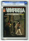 Vampirella #6 (Warren, 1970) CGC NM 9.4 Off-white pages. Ken Kelly cover. Jerry Grandenetti, Jack Sparling, Mike Royer...