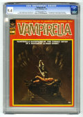Magazines:Horror, Vampirella #8 (Warren, 1970) CGC NM 9.4 Off-white to white pages. First time Vampirella appears as a serious character. Firs...