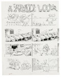 "Original Comic Art:Panel Pages, Sergio Aragones - Mad #259 Complete 3-page Story ""A Mad Look at Bugs"" Original Art (EC, 1985). Sergio Aragones presents thre... (Total: 3 Items)"