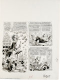 Original Comic Art:Panel Pages, Jack Davis - Mad #207 Page Original Art, Group of 5 (EC, 1979).Live from the fabulous Starbird Hotel in beautiful downtown ...(Total: 5 Items)