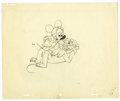 "Animation Art:Miscellaneous, Walt Disney Studios - ""Plutopia"" Animation Production DrawingOriginal Art (Disney, 1951). The cabin rules are strict at Cam..."