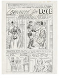 "Original Comic Art:Complete Story, Lee Elias - True Love Problems and Advice #3 Complete 10-page Story""I Yearned for Love"" Original Art (Harvey, 1949). Laura ..."