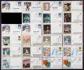 Baseball Collectibles:Others, 1979-85 Collection of Signed First Day Covers Lot of 23. ...