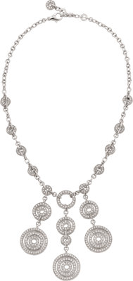 Bvlgari Diamond, White Gold Necklace