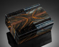 Lapidary Art:Boxes, TIGER'S EYE BOX. Handcrafted in Italy. Stone source: South Africa . ...