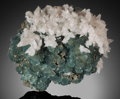 Minerals:Cabinet Specimens, FLUORITE & CALCITE . China . ... (Total: 2 Items)